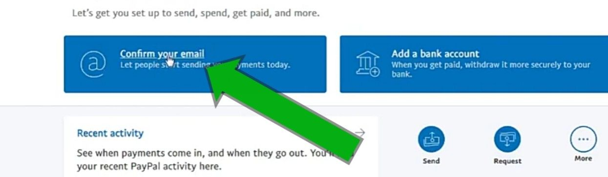 How do I confirm my PayPal email address