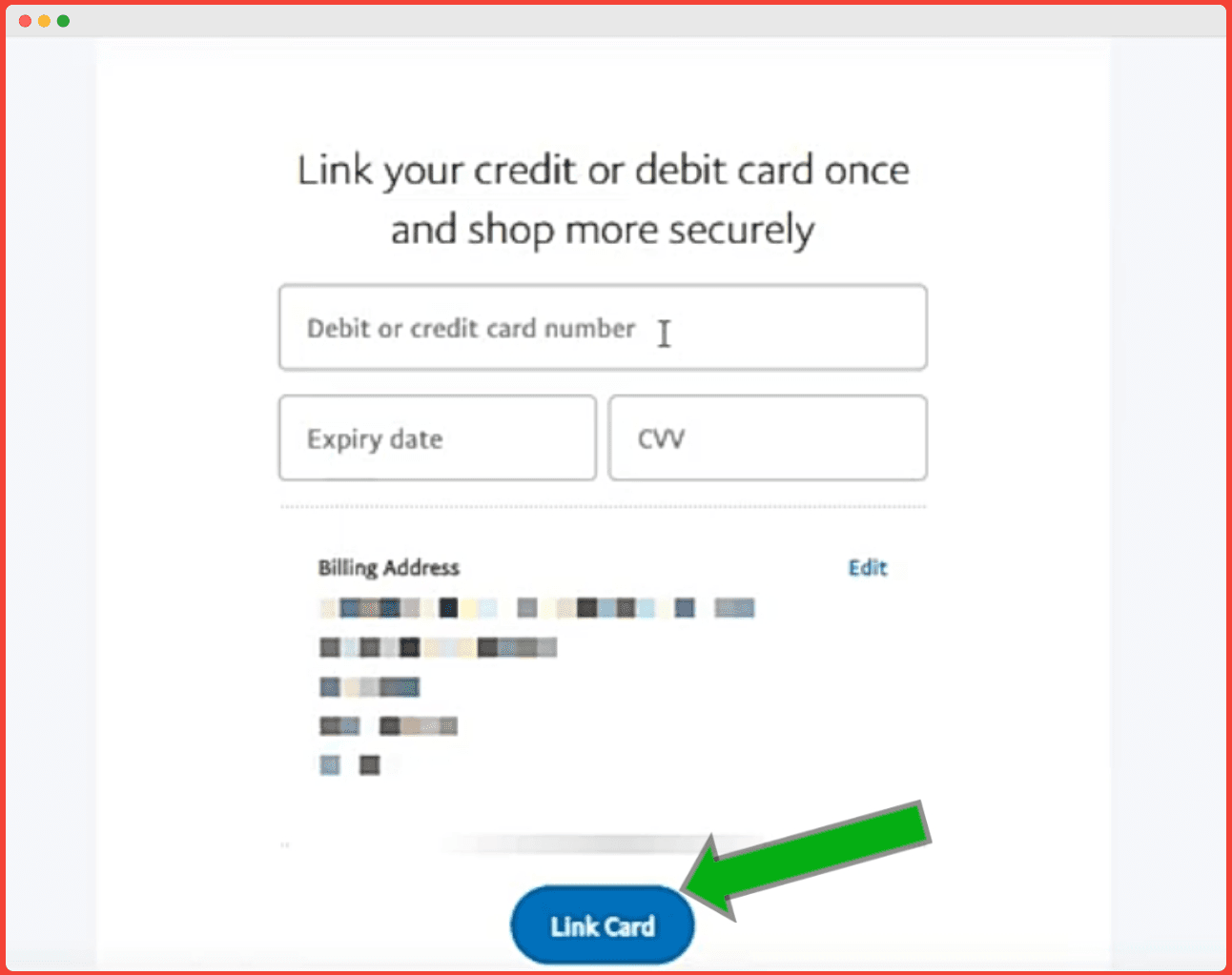How do I set up a new PayPal account