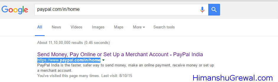 PayPal India - Google Search