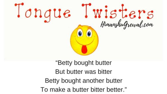 Best Tongue Twisters in English Language