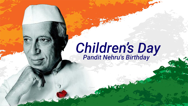 Happy Children's Day Images with Chacha Nehru