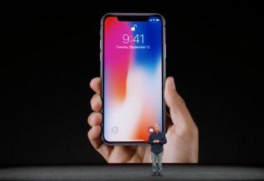 एप्पल आईफ़ोन एक्स स्मार्टफ़ोन