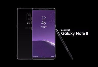 सैमसंग गैलेक्सी नोट 8 स्मार्टफ़ोन