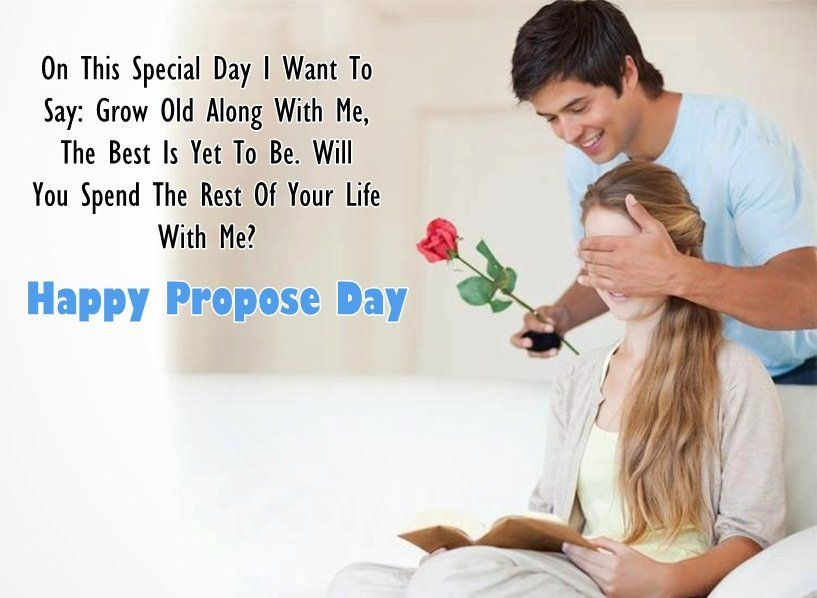 Boyfriend Propose Day Images for Girlfriend