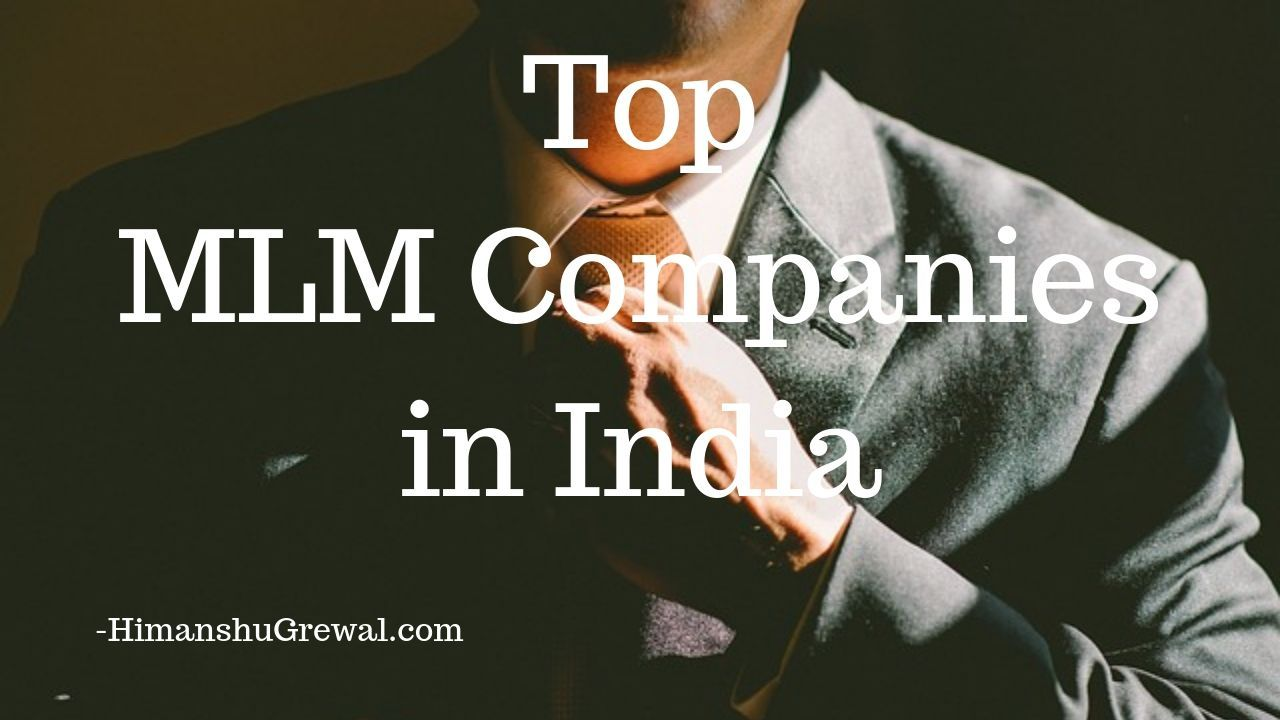 MLM Companies in India