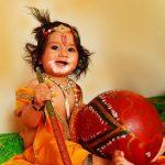 Baby Shri Krishna Images
